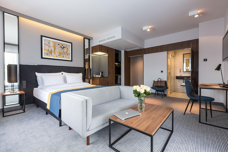 Pokój premium w hotelu Grand Ascot w Krakowie