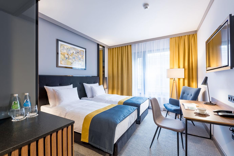 Miejsca noclegowe w hotelu Grand Ascot w Krakowie