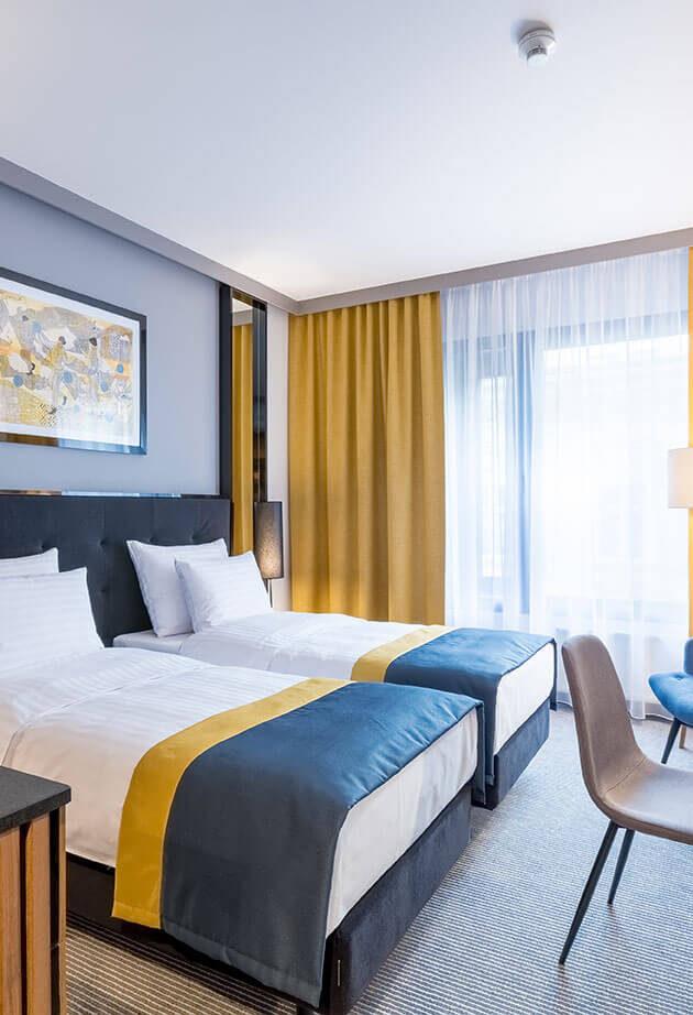 Grand Ascot Hotel Twin room