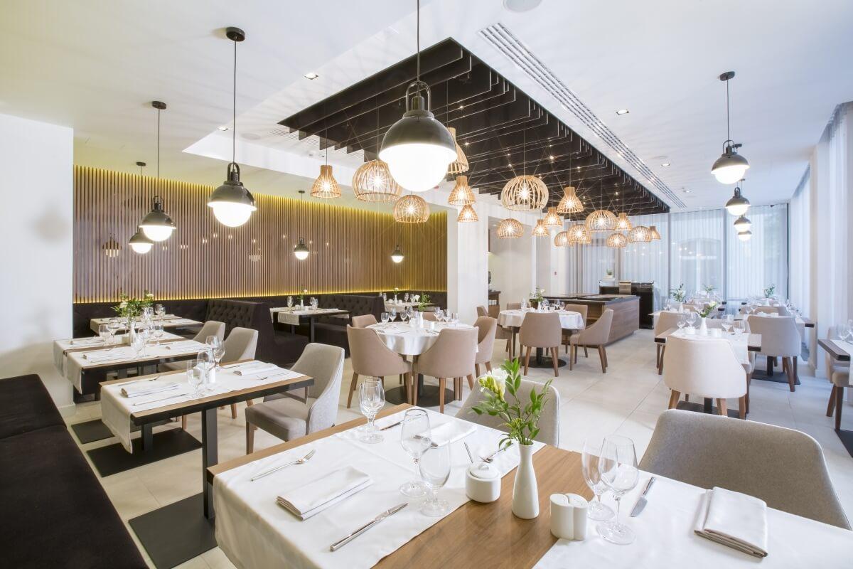 Sala Restauracji Four w centrum Krakowa