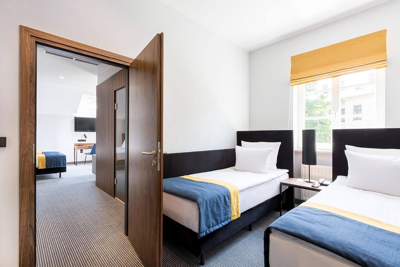 Pokój Family w hotelu Grand Ascot w Krakowie