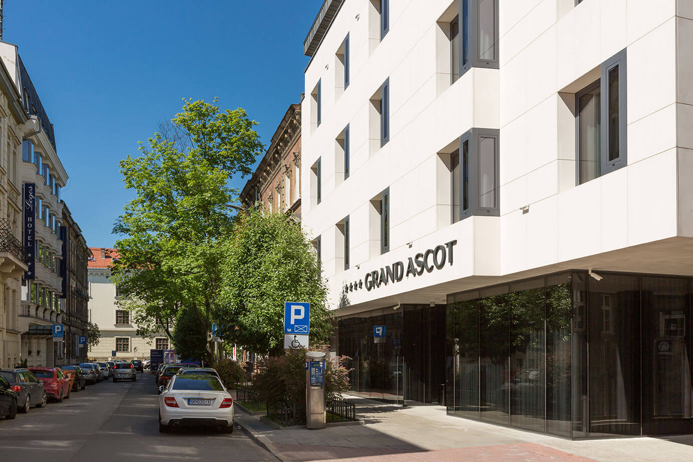 Grand Ascot Hotel - a boutique hotel in the center of Cracow