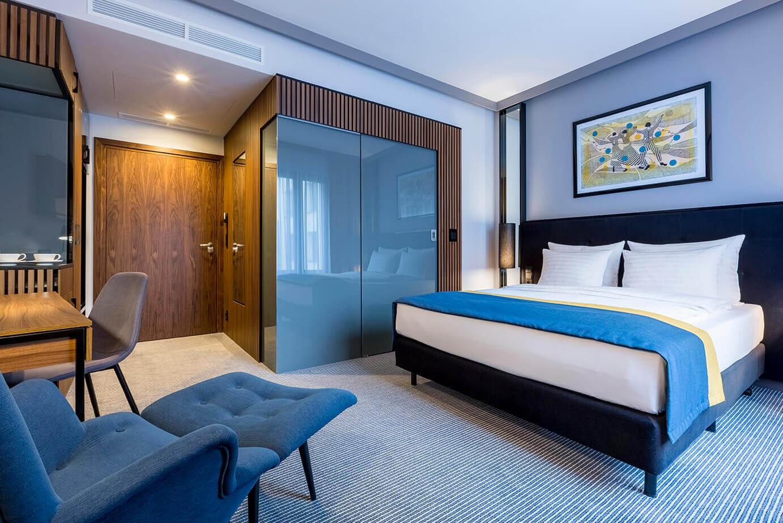 Pokój Standard Double w hotelu Grand Ascot w Krakowie