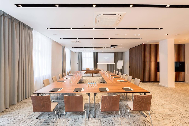 Sala conferenze presso il Grand Ascot Hotel