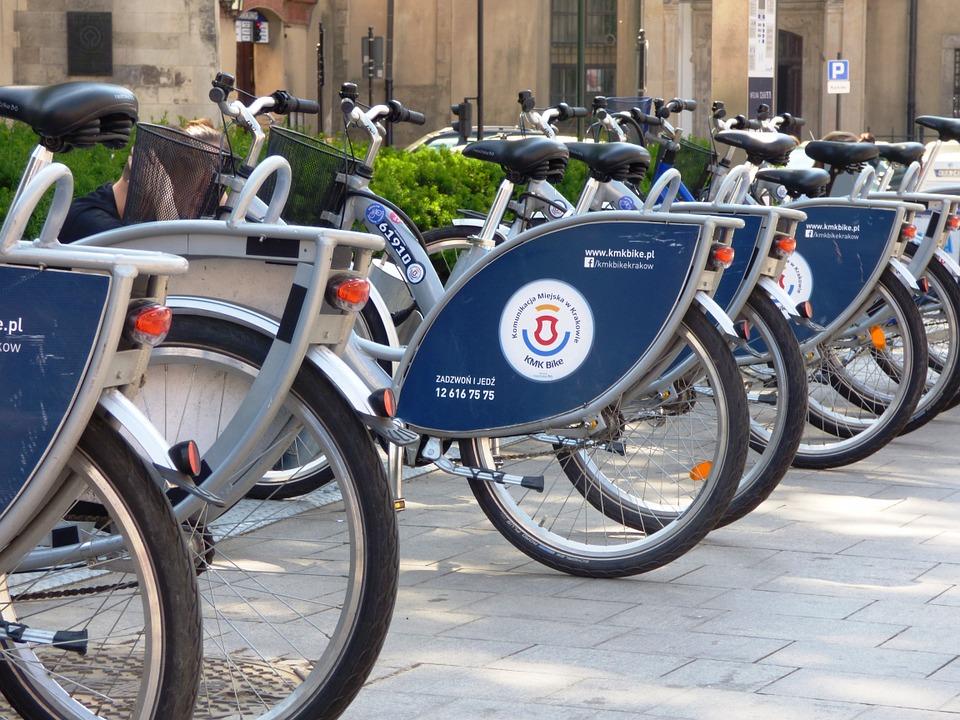 rowery miejscie - kraków
