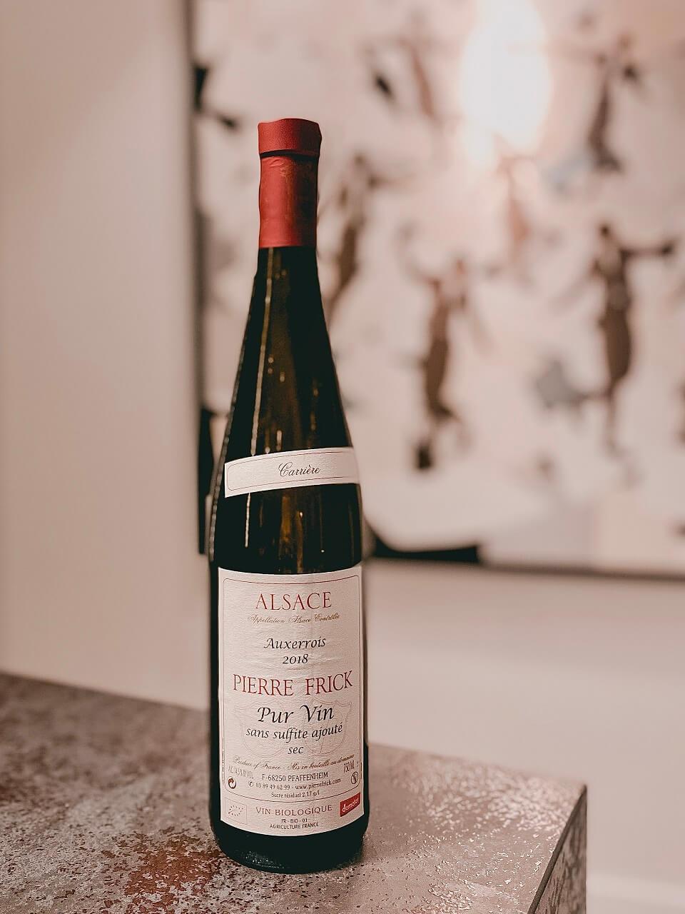 Wino alzackie od rodziny Frick w Wine & Spirits Bar